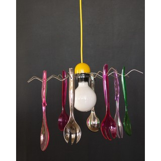 Teen lighting with spoons